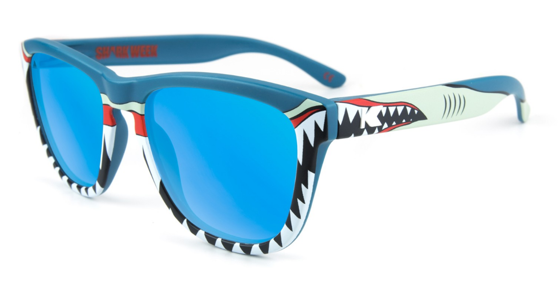 0f09b713e1 Knockaround Partners with Discovery to Create a Limited Run of Shark Week  Sunglasses