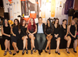 Van Tibolli CEO at Premiere Orlando with Juvexin Hair Models