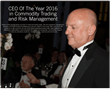 Aspect's Hughes Named CTRM Sector CEO Of The Year