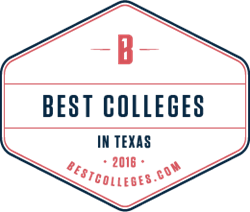 Best Colleges in Texas Seal