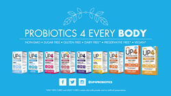 Line of UP4™ Probiotics