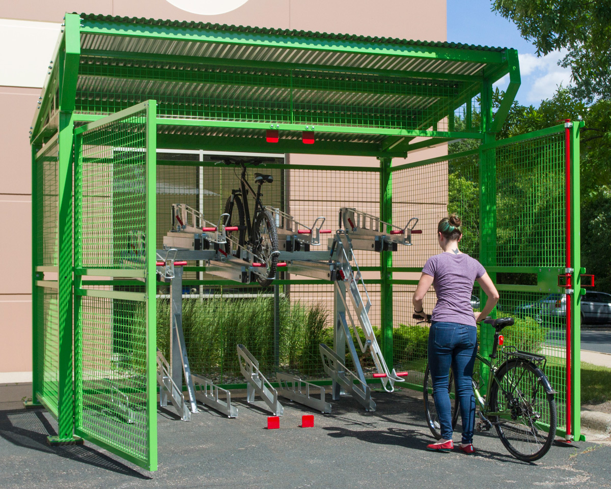 Introducing Dero S New Bike Depot Shelter For Secure Long