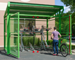 Introducing Dero's New Bike Depot Shelter for Secure, Long-term and Short-term Bicycle Parking