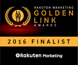 Golden Link Finalist for OPM Agency of the Year Award by Rakuten Marketing