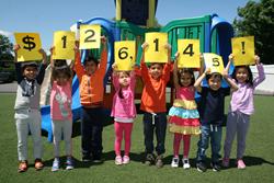 Apple Montessori School RMHC donation