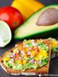 Produce for Kids' Salsa Avocado Toast (Recipe: http://www.produceforkids.com/meal-planning/salsa-avocado-toast)