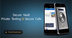 CoverMe, Private Texting & Calling, Vault