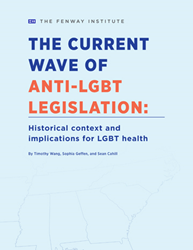 Front cover to The Fenway Institute's religious exemption policy brief