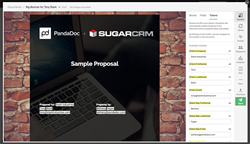 PandaDoc and SugarCRM integration