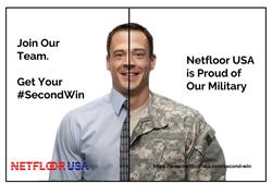 Netfloor USA Cable Management Access Floor Systems #SecondWin Veteran Hiring Program