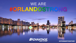 Advantage/E-Z Rent-A-Car Stands Orlando Strong.