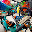 orange 324 downhill bike