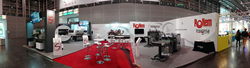 Scissor Hands booth at Drupa 2016