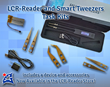 Smart Tweezers and LCR-Reader Task Kits: a device and accessories