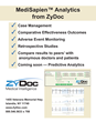 Example of ZyDoc MediSapien Analytics in Ophthalmology. Real-World Data for Diabetic Macular Edema (DME).