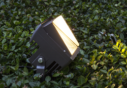 One of VOLT Lighting's new LED outdoor floodlights.