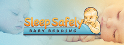 Sleep Safely Baby Bedding is a baby invention designed to provide added safety precautions in cribs and baby beds