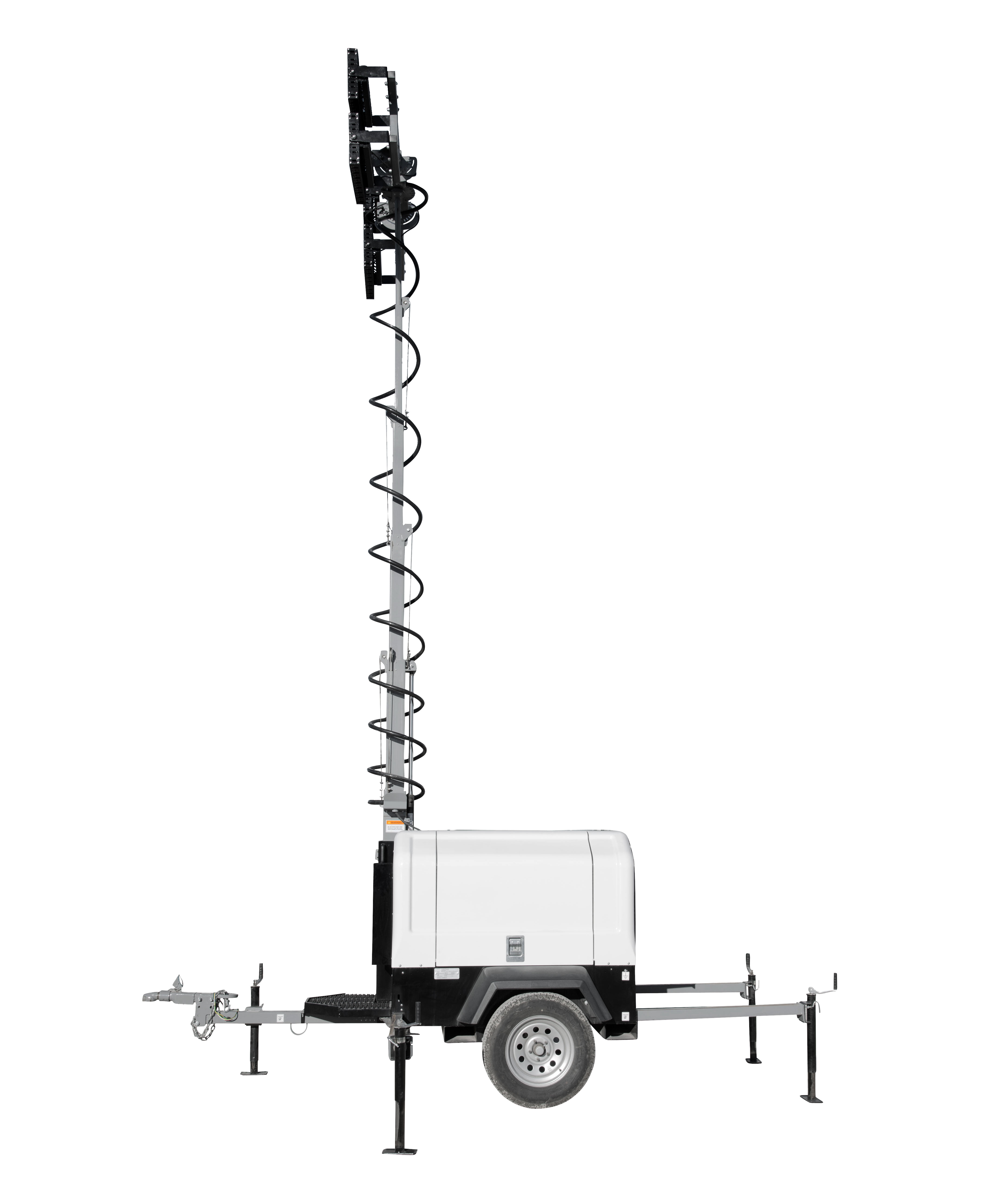 Larson Electronics Releases Mobile Light Tower With Diesel