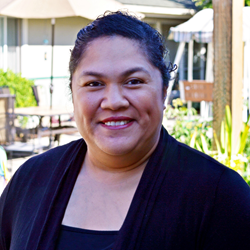 Wesley Homes Director of Activities and Volunteer Services Naniofa Poulivaati-Mounga
