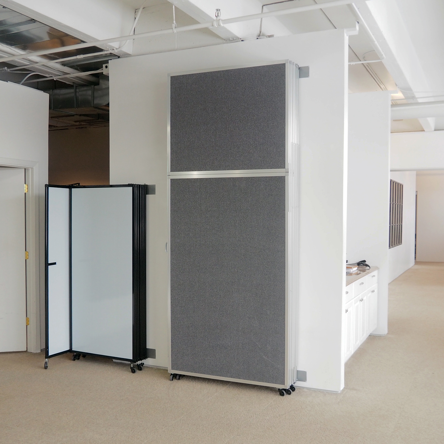 Versare operable wall large room dividers reach new heights - Room partitions ...