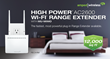 Amped Wireless Ships First Plug-In AC2600 Wi-Fi Extender with MU-MIMO and 12,000 Sq Ft of Wi-Fi Coverage
