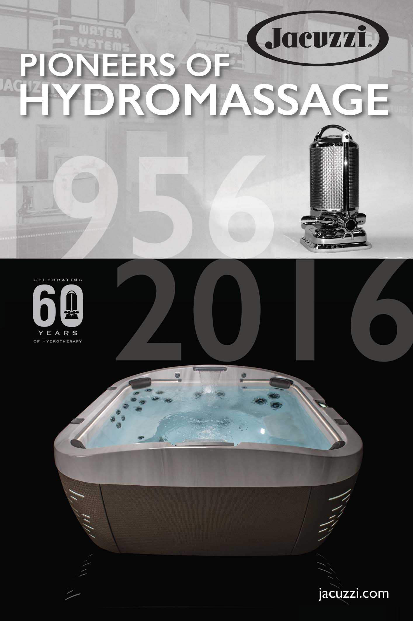Jacuzzi® Hot Tubs Celebrates 60 Year Anniversary with Historic Promotion