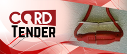 The Cord Tender is a hardware invention perfect for neatly keeping cords together.