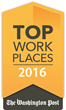 The Washington Post Names CapTech a Winner of the Greater Washington 2016 Top Workplaces Award
