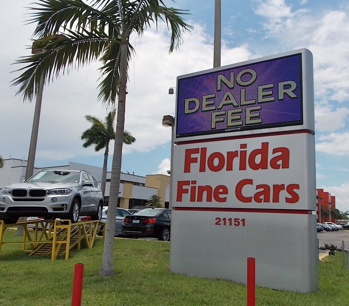 Used Car Dealerships In Miami: Auto Remarketing Survey: Florida Fine Cars Ranks 10th