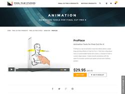 ProPlace - Final Cut Pro X - Pixel Film Studios Plugin