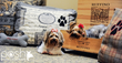 Made in Los Altos custom dog beds available by special order at Enchante Boutique Hotel