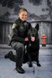 Los Altos K9 Police Dog with Officer Julie Tannock