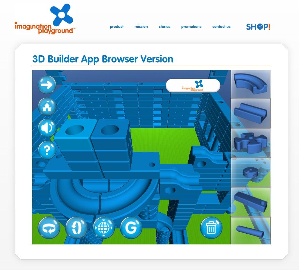Imagination Playground 3d Builder App Surpasses 100k
