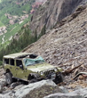Black Bear Road accident in Ouray Colorado