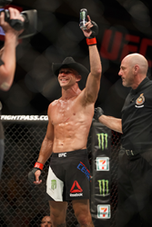 "Monster Energy's Donald ""Cowboy"" Cerrone Dominates Patrick Cote and Wins by TKO at UFC Fight Night 89 Live on Fox Sports 1 from the TD Place Arena in Ottawa, Canada"