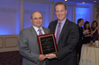 Elder law attorney Anthony Enea, recipient of the Honorable Richard J. Daronco Distinguished Service Award, and John Pappalardo, president of the Columbian Lawyers Association of Westchester County