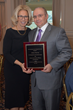The Hon. Janet DiFiore, Chief Judge of the State of New York and the Court of Appeals, and elder law attorney Anthony J. Enea, recipient of the Hon. Richard J. Daronco Distinguished Service Award