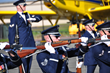 US Air Force Color Guard at the Aviation Education and Career Expo