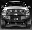 Body Armor 4x4 PRO-Series Front Bumper for 2010-15 Ram 2500/3500