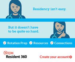 Announcing NEJM Resident 360
