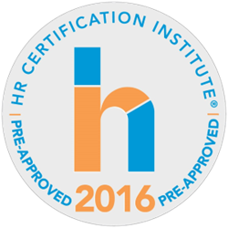 HRCI Pre-Approved 2016 Seal