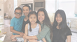 Sugar 2.0 founder Trong Nguyen at home with his 4 kids.