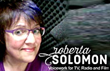 Voice over talent Roberta Solomon is featured