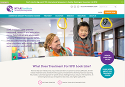 The new STAR Institute for SPD homepage.