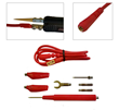 LCR-Reader Multifunction Probe Connector Kit Includes 5 Different Connector Types and a Shielded Two-Wire Cable