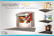 Fabric Graphics and Flexibility Featured in The Trade Group's Enhanced Compatto™ Portable Display Line