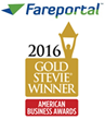 Fareportal, CheapOair Win Three Stevie Awards Including Gold Award for Customer Service