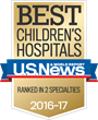 Wolfson Children's Hospital in Jacksonville, Florida, named among 50 Best Children's Hospitals in the Country by U.S. News & World Report