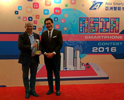 Tekoia wins Asia Smartphone Apps Contest 2016