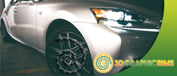 The 3D Graphic Rims is a great way to personalize your vehicle's rims
